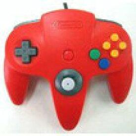 【送料無料】【中古】N64 任天堂64 コントローラーBros.レッド N64 ブロス