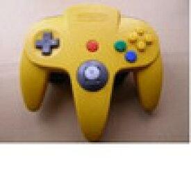 【送料無料】【中古】N64 任天堂64 コントローラーBros.イエロー N64 ブロス