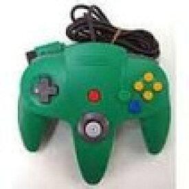 【送料無料】【中古】N64 任天堂64 コントローラーBros.グリーン N64 ブロス