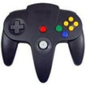 【送料無料】【中古】N64 任天堂64 コントローラーBros.ブラック N64 ブロス