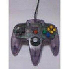 【送料無料】【中古】N64 任天堂64 コントローラーBros.クリアーパープル N64 ブロス