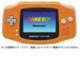 【送料無料】【中古】GBA ゲームボーイアドバンス 本体 オレンジ