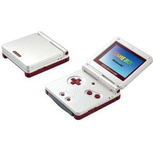 【送料無料】【中古】GBA ゲームボーイアドバンスSP 本体 ファミコンカラー