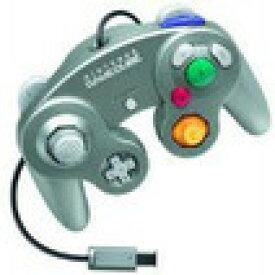 【送料無料】【中古】GC ゲームキューブ コントローラー シルバー