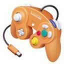 【送料無料】【中古】GC ゲームキューブ コントローラー オレンジ