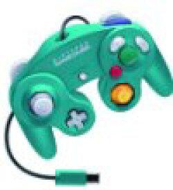 【送料無料】【中古】GC ニンテンドーゲームキューブ コントローラー エメラルドブルー