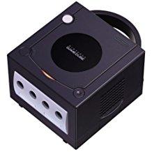 【送料無料】【中古】GC ゲームキューブ NINTENDO GAMECUBE 本体 ブラック (本体のみ、ケーブル、コントローラーなし)