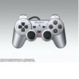 【送料無料】【中古】PS2 プレイステーション2 アナログコントローラー (DUALSHOCK 2) サテン・シルバー デュアルショック プレステ2