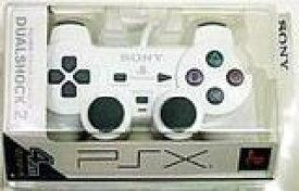 【送料無料】【新品】PS2 プレイステーション2 アナログコントローラー (DUALSHOCK 2) セラミック・ホワイト デュアルショック PSX用