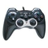 【送料無料】【中古】PS2 PlayStation2 アナログ振動パッド2 TURBO ブラック プレイステーション2 プレステ2