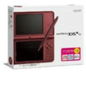 【送料無料】【中古】DS ニンテンドーDSi LL ワインレッド 任天堂 本体(箱説付き)