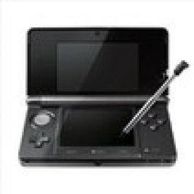 【送料無料】【中古】3DS ニンテンドー3DS コスモブラック 本体 任天堂(箱説付き)