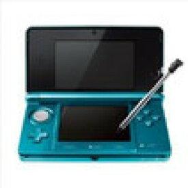 【送料無料】【中古】3DS ニンテンドー3DS アクアブルー 本体 任天堂