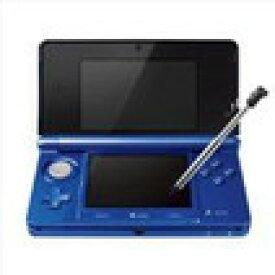 【送料無料】【中古】3DS ニンテンドー3DS コバルトブルー 本体 任天堂