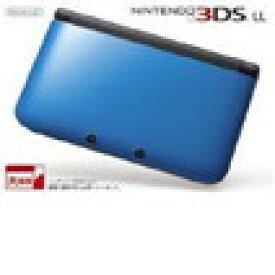 【送料無料】【中古】3DS ニンテンドー3DS LL ブルーXブラック 本体 任天堂