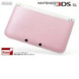 【送料無料】【中古】3DS ニンテンドー3DS LL ピンクXホワイト 本体 任天堂