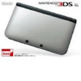 【送料無料】【中古】3DS ニンテンドー3DS LL シルバーXブラック 本体 任天堂(箱説付き)