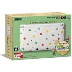 【送料無料】【中古】3DS ニンテンドー LL 本体 とびだせ どうぶつの森パック(箱説付き)