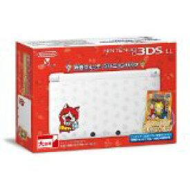 【ジャンク】【送料無料】【中古】3DS ニンテンドー3DS LL 妖怪ウォッチ ジバニャンパック データカードダス&限定カード特典同梱