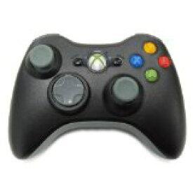 【送料無料】【中古】Xbox 360 ワイヤレスコントローラー(ブラック) マイクロソフト