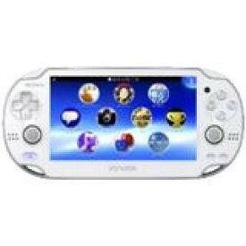 【訳あり】【送料無料】【中古】PlayStation Vita ヴィータ 3G/Wi‐Fiモデル クリスタル・ホワイト (限定版) (PCH-1100 AB02)