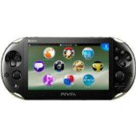 【送料無料】【中古】PlayStation Vita Wi-Fiモデル カーキ/ブラック (PCH-2000ZA16) 本体 プレイステーション ヴィータ