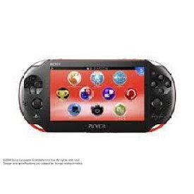 【ジャンク】【送料無料】【中古】PlayStation Vita Wi-Fiモデル レッド/ブラック (PCH-2000) 本体 プレイステーション ヴィータ