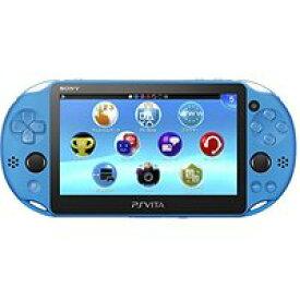 【送料無料】【中古】PlayStation Vita Wi-Fiモデル アクア・ブルー(PCH-2000ZA23) 本体 プレイステーション ヴィータ