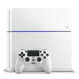 【送料無料】【中古】PS4 PlayStation 4 グレイシャー・ホワイト 500GB (CUH-1200AB02) プレイステーション4 プレステ4(箱付き)