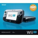 【送料無料】【中古】Wii U プレミアムセット kuro クロ 黒 任天堂 本体 すぐに遊べるセット(箱説付き)