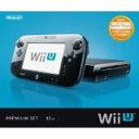 【欠品あり】【送料無料】【中古】 Wii U プレミアムセット kuro クロ 黒 任天堂 本体のみ (ゲームパッド、ケーブルなどなし)