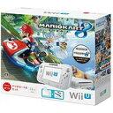 【送料無料】【中古】Wii U マリオカート8 セット シロ 任天堂 本体(箱説付き)