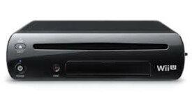 【送料無料】【中古】Wii U プレミアムセット kuro クロ 黒 任天堂 本体のみ (ゲームパッド、ケーブルなどなし)