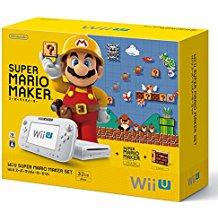 【欠品あり】【送料無料】【中古】Wii U スーパーマリオメーカー セット 本体 (本体のみゲームパッド、ケーブルなし)