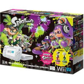 【欠品あり】【送料無料】【中古】Wii U スプラトゥーン セット(amiiboアオリ・ホタルなし)(箱説付き)