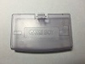 【送料無料】【中古】GBA ゲームボーイアドバンス 電池カバー クリアパープル フタ 蓋