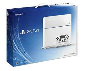 【送料無料】【中古】PS4 PlayStation 4 グレイシャー・ホワイト 500GB (CUH-1100AB02) プレイステーション4 プレステ4(箱説付き)