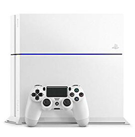 【送料無料】【中古】PS4 PlayStation 4 グレイシャー・ホワイト 500GB (CUH-1200AB02) プレイステーション4(箱説付き)