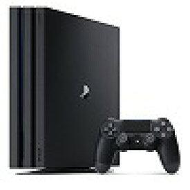 【送料無料】【中古】PS4 PlayStation 4 Pro ジェット・ブラック 1TB (CUH-7100BB01) プレイステーション4 プレステ4(箱説付き)