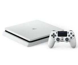 【送料無料】【中古】PS4 PlayStation 4 グレイシャー・ホワイト 500GB (CUH-2100AB02) プレイステーション4 プレステ4(箱付き)