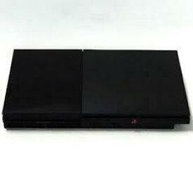 【訳あり】【送料無料】【中古】PS2 PlayStation2 チャコール・ブラック (SCPH-90000CB) 本体のみ (コントローラー、ケーブルなし)