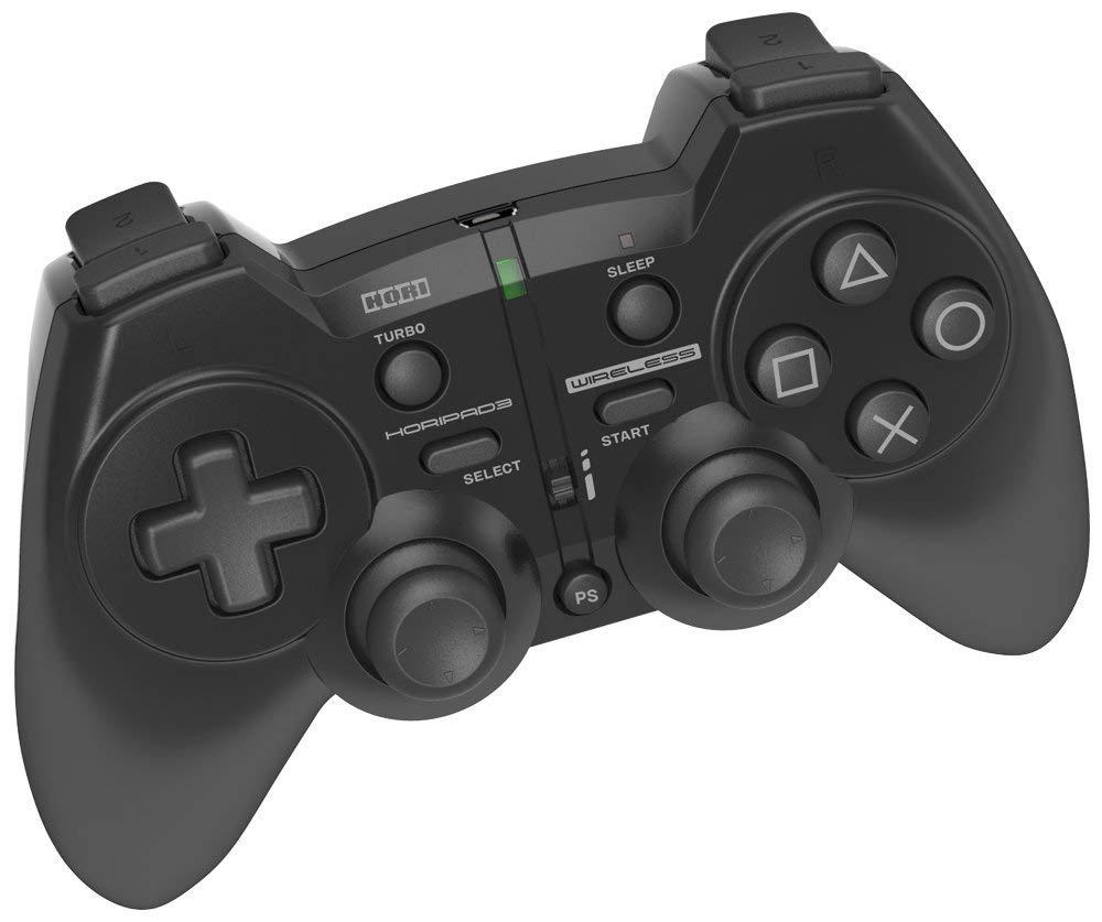 【送料無料】【中古】PS3 プレイステーション 3 ホリパッド3 ワイヤレス ブラック コントローラー
