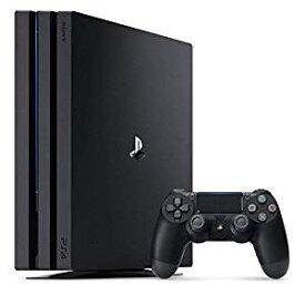 送料無料】【中古】PS4 PlayStation 4 Pro ジェット・ブラック 1TB (CUH-7000BB01) プレイステーション4(箱説付き)