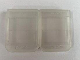 【送料無料】【中古】PS プレイステーション メモリーカード ケース 2個セット ソニー製