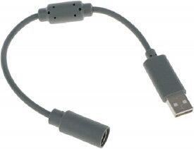【送料無料】【新品】Xbox 360 USB変換ケーブル クイックリリースコネクタ コントローラー接続用 グレー
