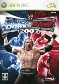 【送料無料】【中古】Xbox WWE 2007 SmackDown! VS RAW - Xbox360