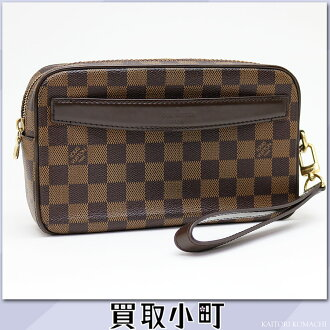 Louis Vuitton N41219 pochette サンポールダミエメンズセカンドバッグハンドバッグトラベルポーチ LV SAINT-PAUL CLUTCH DAMIER