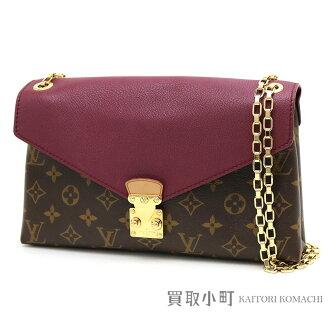 Take Louis Vuitton M41200 パラスチェーンモノグラムオロールグレインカーフチェーンショルダーバッグ 2WAY bag slant; LV PALLAS CHAIN MONOGRAM SHOULDER BAG