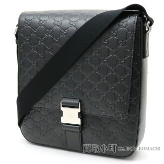 dfdc9f3b9ca6 Take a Gucci Gucci signature leather messenger bag black calfskin men crossbody  shoulder bag slant;