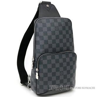 5562997a6a50 Take Louis Vuitton N41719 アヴェニュースリングバッグダミエグラフィットクロスボディバッグバムバッグショルダーバッグ  slant  men s avenue LV AVENUE SLING BAG ...